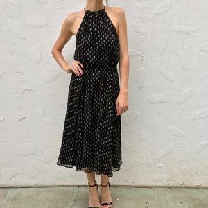 (Plenty by Tracy Reese) Golden Dots Midi Dress